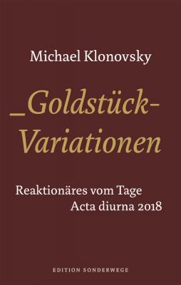 Klonovski, Michael: Goldstück- Variationen