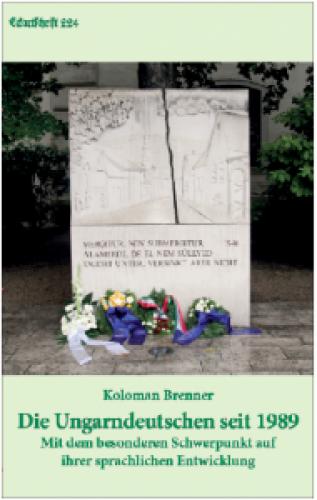 Brenner, Koloman: Die Ungarndeutschen seit 1989