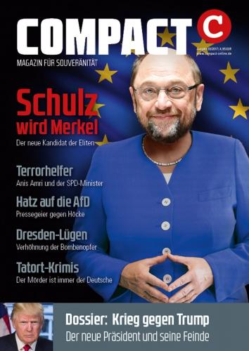 Compact: Schulz wird Merkel