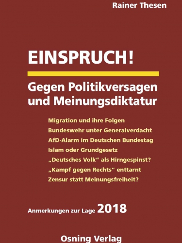 Thesen, Einspruch!