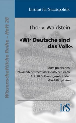 Waldstein, von, Wir sind das Volk