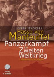 Hasso von Manteuffel, Panzerkampf im Zweiten Weltkrieg