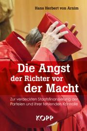 Arnim, von Hans Herbert: Die Angst vor der Macht