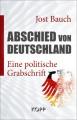 Bauch, Jost Abschied von Deutschland