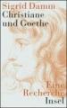 Damm, Sigrid: Christiane und Goethe